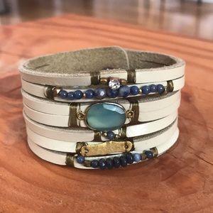 Jewelry - Faux leather cuff bracelet